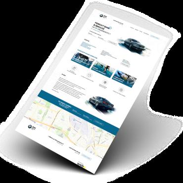 Сайт для СТО компании