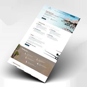 Сайт для туристической компании